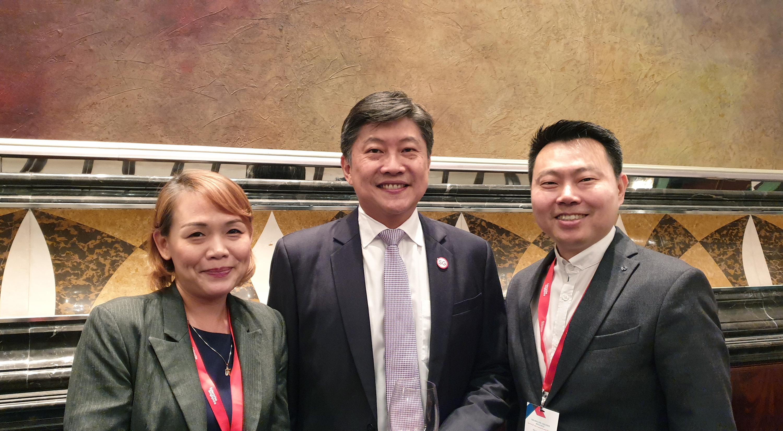 Mactus Live Kinofy Singapore Minister Mr Ng Chee Meng Glammistry